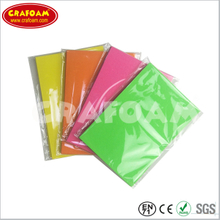 Color Eva foam sheets with OPP bag packing