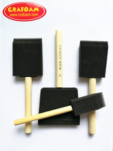 Foam Painting Brush Black