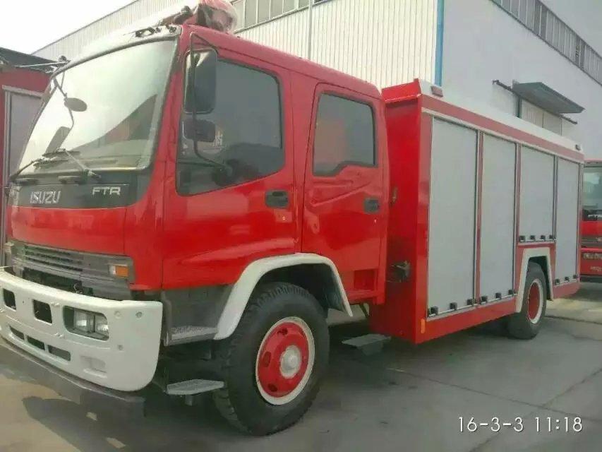 115pcs ISUZU Fire Truck water foam tanker sihanoukville
