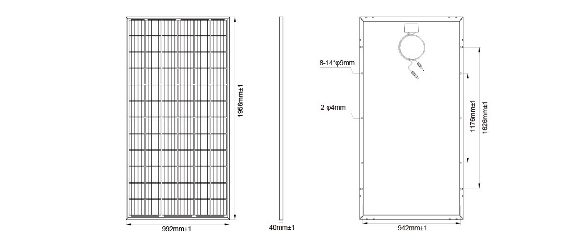 Moregosolar Latest 6bb Solar Cell Mono Solar Panel 300w