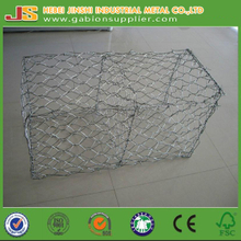 CE certification 1*1*2 m hot dipped galvanized Woven Gabion Boxes & Mattresses