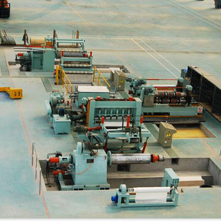 double cutter seat slitting line machine
