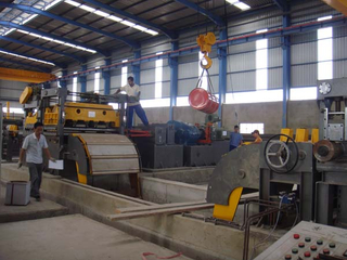 steel cut to length line machine