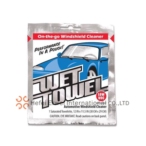 Car Windshield Cleaner Wet Wipes