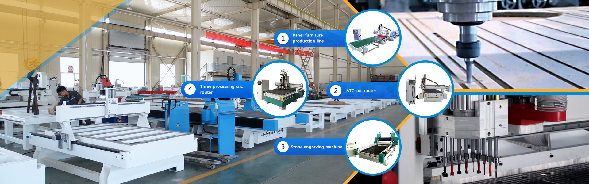 china cnc router machine manufacturers
