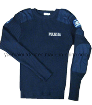 High Quality Police Security Wool Sweater
