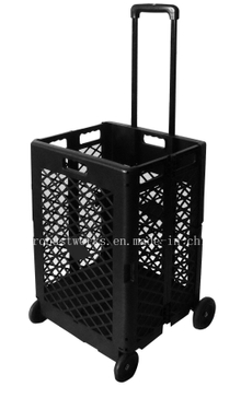 Extra Capacity Plastic Shopping Cart (FC404KP)