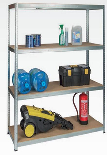 Galvanized Boltless Metal Storage Rack (9040-175)