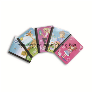 Composition Book Wide-ruled Avec 80/ 100 Feuilles Rigid Couverture Reliure Cousu