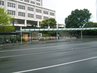 Outdoor Steel Street Furniture Bus Stop Shelter (342)