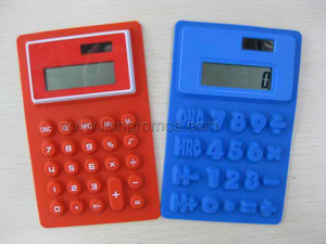 Silicone Foldable 8digits Calculator
