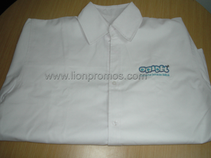 Oridel Logo Embroidery Unifrom Shirt