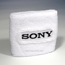 Custom Logo Embroidery Promotional Sweat Bands