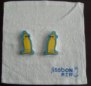 Hotel Promotional Gift Cotton Compressed Face Towel