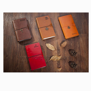Delicate Pocket PU Loose Sheet Notebook