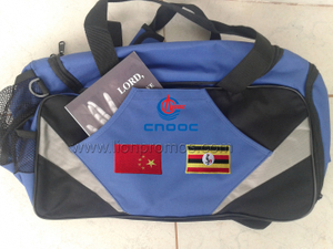 China National Offshore Oil Corporation Logo Sports Gym Bag