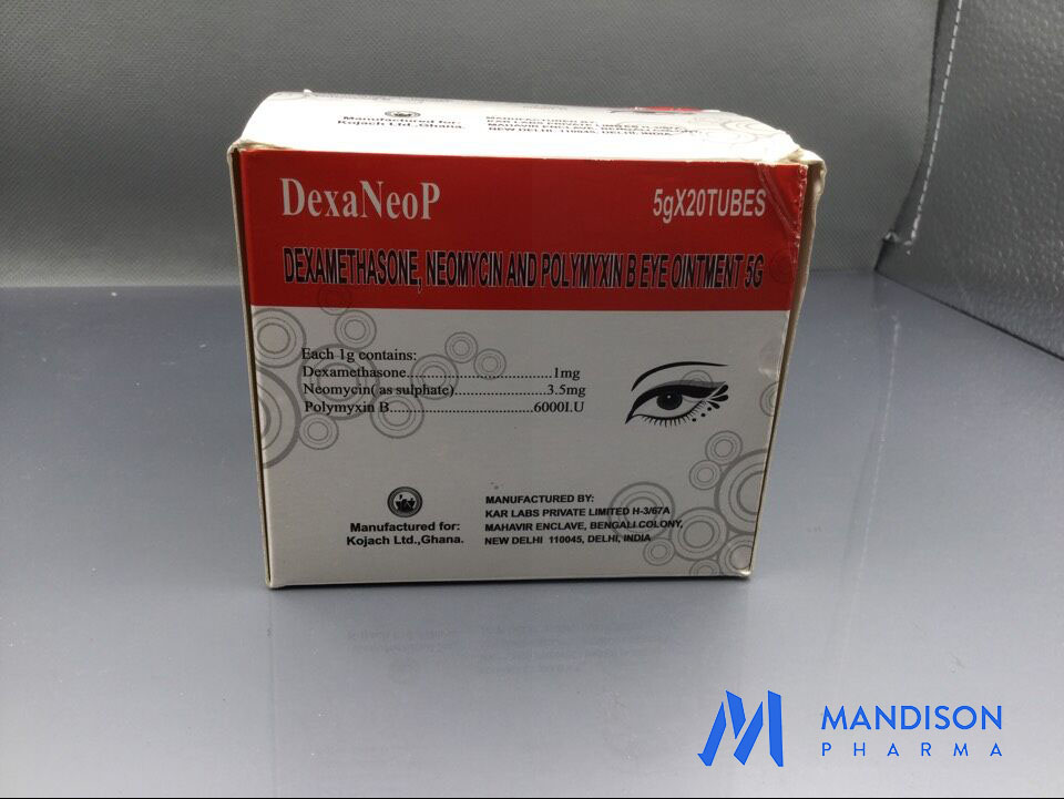 Dexamethasone,Neomycin and Polymyxin Eye Ointment