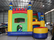 Big Outdoor Commercial Inflatable Bounce House Jumping Castle for Kids