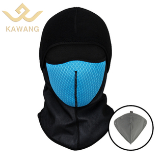 Kawang cold weather motorcycle ridding thermal polar fleece windresistant balaclava