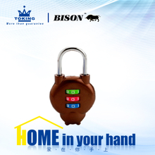 Zinc Alloy Combination Padlock WA314-4