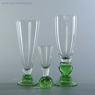 2019 Unique Clear Crystal Champagne Flute Glass Wine Cup