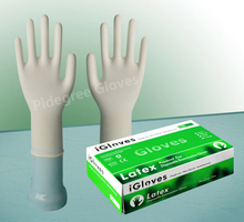 Disposable Latex Gloves-Powder Free