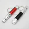 Whistle LED Keychain Light wih Compass