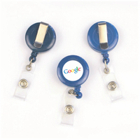 Customized Badge Reels with Print Logo for Name Badge Holder