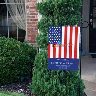 Garden Decoration Flag With Metal Pole Stand, Cartoon Yard Flag, Fun Courtyard Lawn Flag, Home Decoration Flying Pole Garden Flag