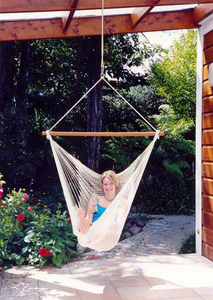 Garden Swing Single Swing Cotton Swing Hammock