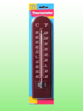 A001 Wooden Thermometer