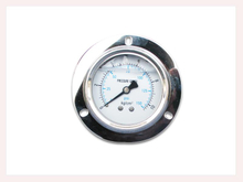 PG-026 Liquid Pressure Gauge with back connection with flange