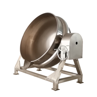 electric heating and mixing sandwich pot