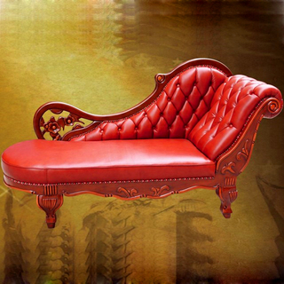 90A Leather Chaise Lounge for Home Furniture