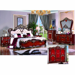 W806B Bed for Reproduction Furniture and Classical Bedroom Furniture