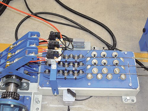 7 Line Wire CNC Forward