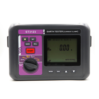 ST3123 Double Clamp Grounding Resistance Tester