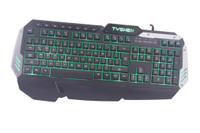 Backlight Gaming Keyboard, 8 Keys Editable (KBB-024)