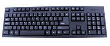 Anti-Dust Design Keyboard of USB Standard Keyboard for Computer