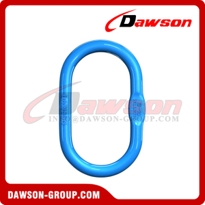 G100 / Grade 100 Forged Master Link para Wire Rope Lifting Slings