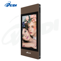 42inch 2500nits high brightness outdoor advertising lcd display with wall mounte