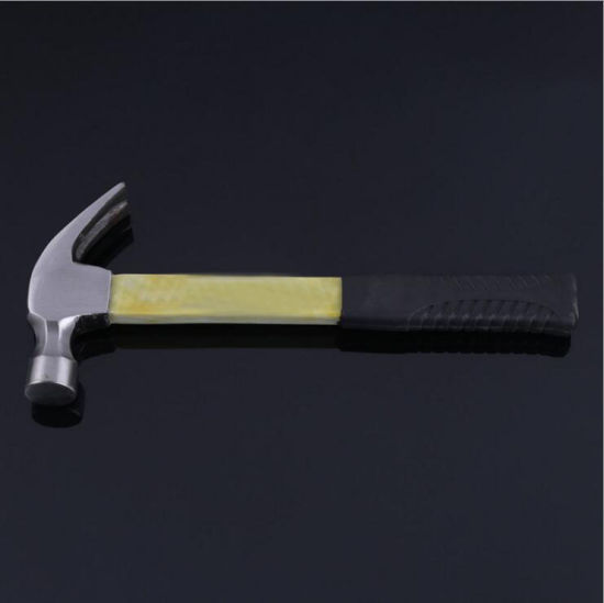 Claw Hammer with a Wooden Handle