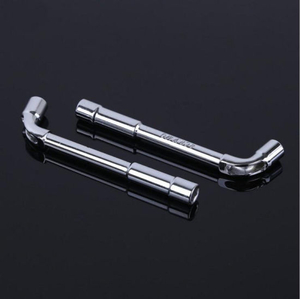 L Type Double Ends Wheel Nut Spanner Sleeve Wrench