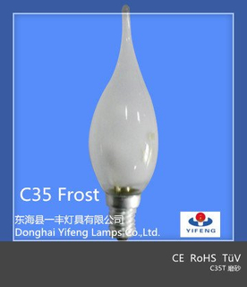 Eco Energy Saving C35t Halogen Bulb with CE, RoHS Approved