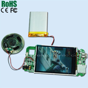High quality LCD video card chip for video brochures