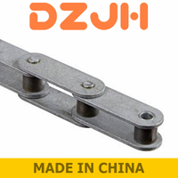 Double pitch precision roller chains