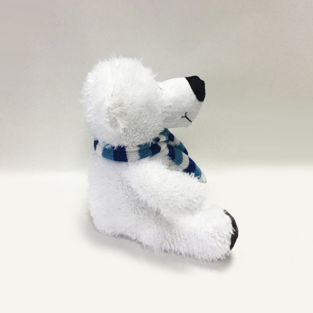 White Polar Bear Plush Toys Stuffed Polar Bear Toys