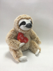 Hairy Soft Stuffing Big Disccount Sloth Plush with Heart