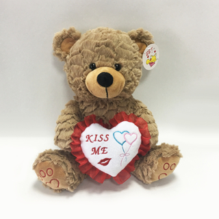 Valentine Day Romantic Brown Beautiful Plush Teddy Bear Toys