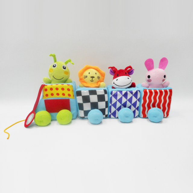 Interesting Baby Plush Stuffed Toy Stuffed Plush Train Toy